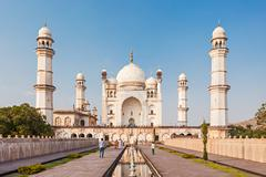 Stock Photo of Bibi-qa-Maqbara in Aurangabad