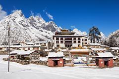 Tengboche Monastery, Nepal - stock photo