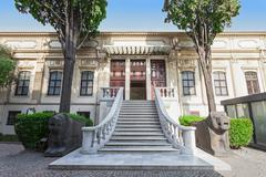 Istanbul Archaeology Museum - stock photo