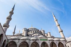 The Suleymaniye Mosque - stock photo