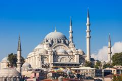 The Suleymaniye Mosque Stock Photos