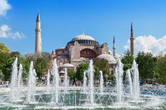 Hagia Sophia, Istanbul - stock photo
