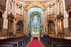 Church of Saint Ildefonso Stock Photos
