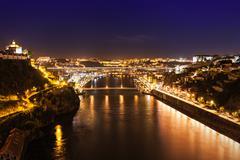 The Dom Luis Bridge - stock photo