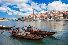 Douro river - stock photo