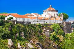 Mosteiro Serra do Pilar - stock photo