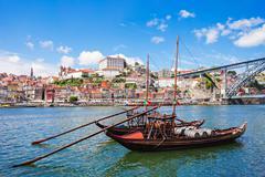 Douro river - stock photo