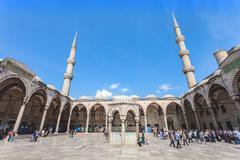 The Suleymaniye Mosque - stock photo