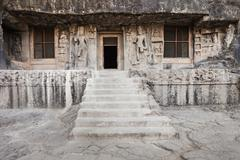 Stock Photo of Ellora caves, Aurangabad