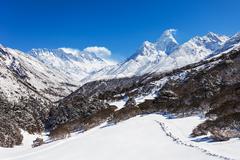 Ama Dablam, Himalaya - stock photo