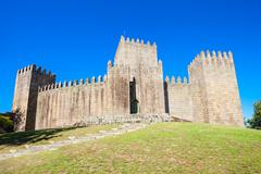 Castle of Guimaraes - stock photo