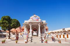 Jain Temple, Mandu Stock Photos
