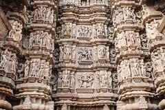 Stone carved, Khajuraho - stock photo