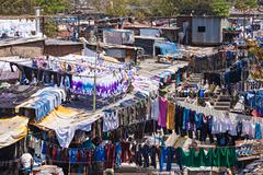 Dhobi Ghat, Mumbai Stock Photos