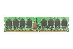 Computer Memory Chip Module Stock Photos