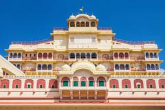 City Palace in Jaipur - stock photo