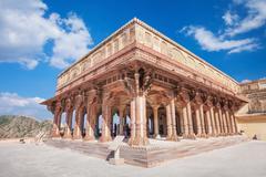 Amer Fort near Jaipur - stock photo