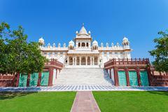 Jaswant Thada mausoleum Stock Photos