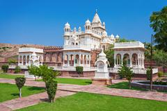 Jaswant Thada mausoleum - stock photo