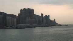 Hong Kong Sunset - stock footage