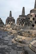 Bell shaped stonework - stock photo