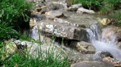 Water steam - summer day Stock Footage