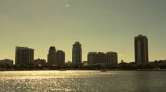Downtown Saint Petersburg Florida 2 Stock Footage