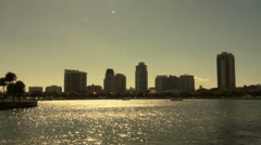 Downtown Saint Petersburg Florida Stock Footage