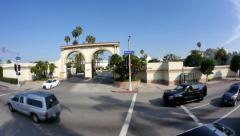 Paramount Studios Establishing Shot Stock Footage