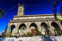 King Cathedral (Stone Church), Nha Trang, Vietnam - stock photo