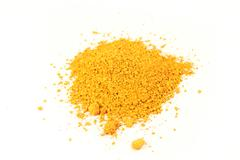 French ocher pigment Stock Photos