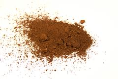Burnt umber pigment Stock Photos