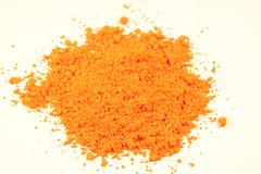 Orange pigment Stock Photos