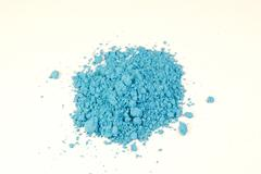Bright blue pigment Stock Photos
