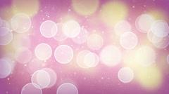 Elegant bokeh light loopable background 4k (4096x2304) Stock Footage