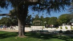 Beverly Hills Establishing Shot Stock Footage