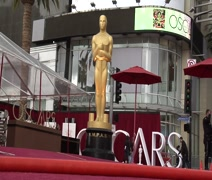 2015 Oscar Fashion from the Red Carpet best Position Stock Footage