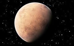 Planet Mars Piirros