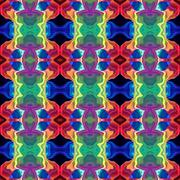 Stock Illustration of Abstract Colorful Kaleidoscope Pattern