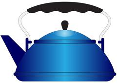 Kettle - stock illustration
