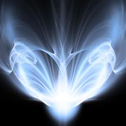 Paranormal Abstract Background - stock illustration