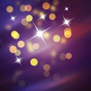 Stock Illustration of Purple Festive Christmas background