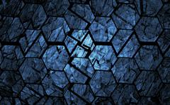 Stock Illustration of Blue grunge geometrical abstract background