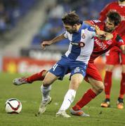 Victor Sanchez of RCD Espanyol Stock Photos