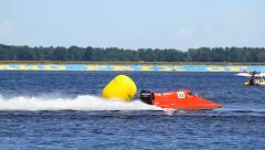 Grand Prix Formula 1 H2O Stock Footage