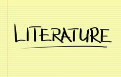 Literature Concept - stock illustration