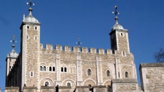 The Tower of London, Royal Palace 17 Stock Footage