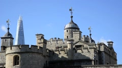 The Tower of London, Royal Palace 18 Stock Footage