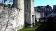 The Tower of London, Royal Palace 22 Stock Footage