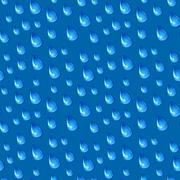 Seamless rain pattern. Stylish colorful texture Stock Illustration